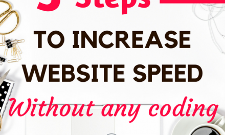 How to easily Increase Website Speed : 3 No-Coding ways