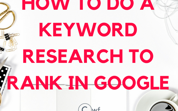 How to do Outstanding Seo Keyword Research Process