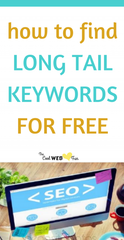 How to find Long Tail Keywords for Free