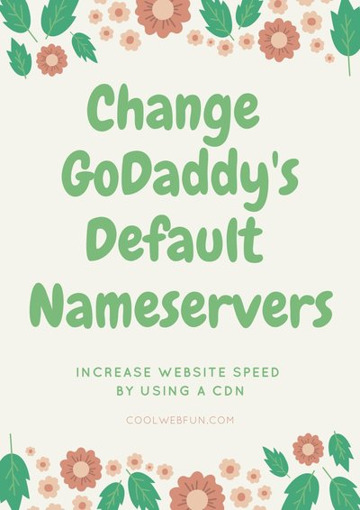 How to change nameservers: GoDaddy DNS configuration
