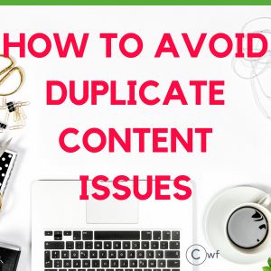 How to avoid Duplicate Content Issues the Proper Way