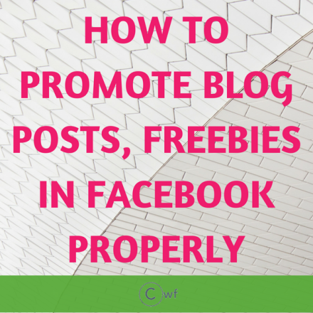 How I Promote my Blog/Biz for Free without spending a Dime