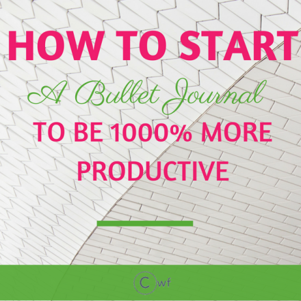 How to start a Bullet Journal to be 1000% more productive
