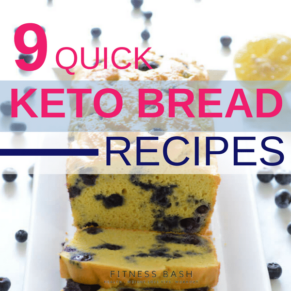Keto Bread: 9 Delicious Low Carb Keto Bread Recipes