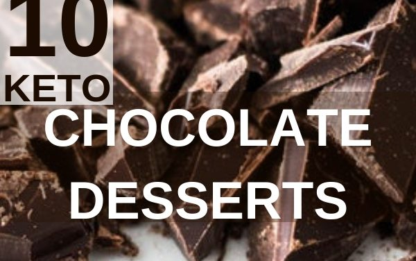 10 Keto Chocolate Dessert Recipes under 5 Carbs