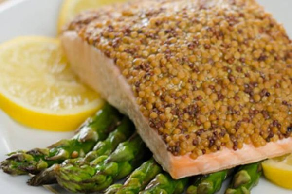 BAKED SALMON RECIPE WITH ASPARAGUS