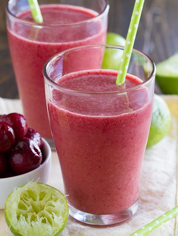 cherry coconut Healthy Smoothie Recipes