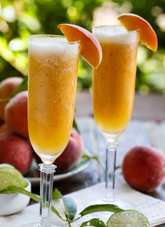 PEACH NON ALCOHOLIC DRINKS
