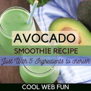 Creamiest Avocado Smoothie Recipe with just 5 Ingredients