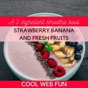 Smoothie Bowl Recipe with Fresh Fruits