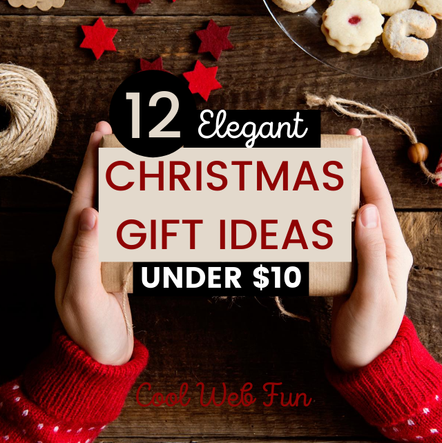 12 Inexpensive Christmas Gifts Under 10 Cool Web Fun