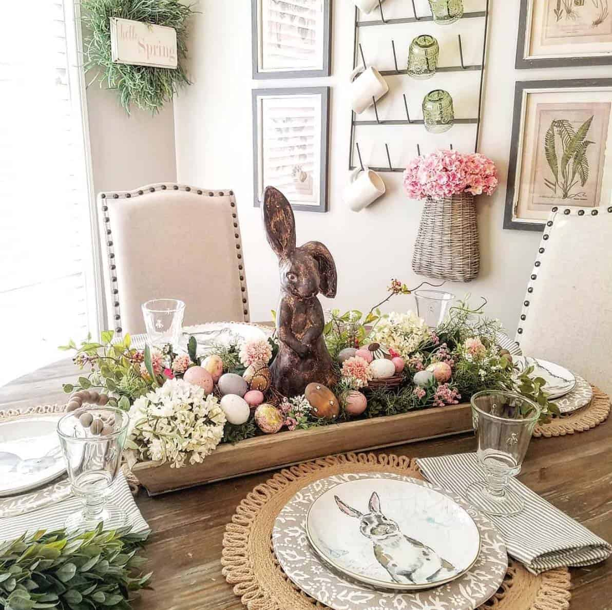 DOUGH BOWL SPRING DECOR