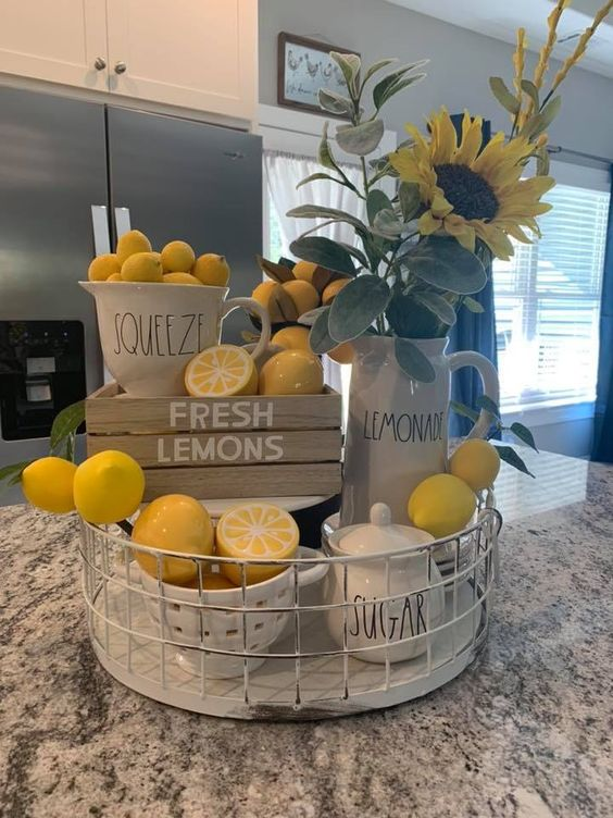 LEMON SPRING DECOR