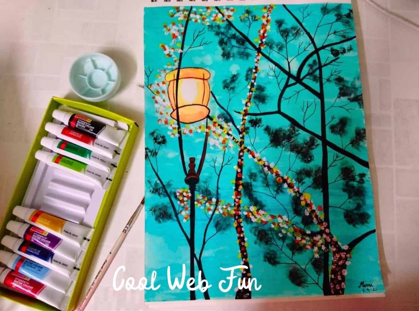 water color drawing with brustro pen (2)